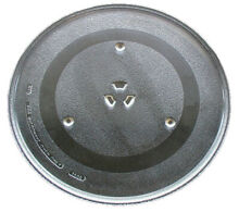 GE Microwave Glass Turntable Plate   Tray 14 1 8  WB49X10193