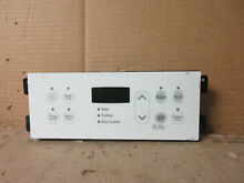 Kenmore Frigidaire Range Control Board White Overlay Part   316418208