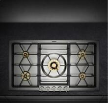 GAGGENAU VG295114CA 36  Gas Cooktop with 5 Sealed Brass Burners