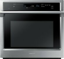 Samsung   30  Single Wall Oven   Stainless steel Smart Connectivity NV51K6650SS