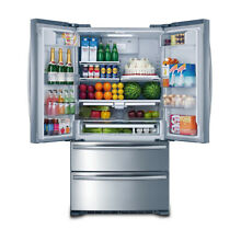 Kitchen Automatic Ice maker 36 Inch Refrigerator with Counter Depth French Door