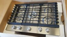 KitchenAid 30  Stainless Steel Gas Cooktop KCGS550ESS