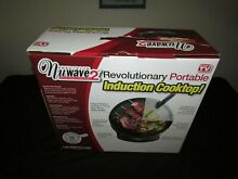 NuWave 2 Precision Induction Cooktop w  9  Ceramic Pan New in Box