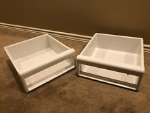 Sub Zero 550 Refrigerator Crisper Drawer Assembly Part   4180910 Pair