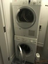 BOSCH 24  Stackable WASHING MACHINE and VENTLESS DRYER   WAS20160UC WTE86300US
