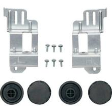GE 24 in  Washer Dryer Stack Bracket Kit Black or Gray GE24STACK