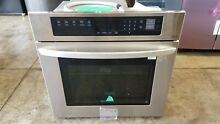 LG LWS3063ST 30  Stainless Electric Single Wall Oven Convection Easy Clean
