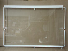 Frigidaire Refrigerator Deli Shelf Glass No Glides Part   240350620 240372410