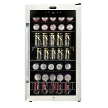 Whynter BR 1211DS Freestanding 121 Can Beverage Refrigerator with Digital Con