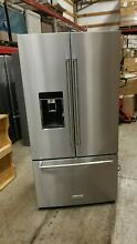 KitchenAid KRFC704FPS 36  Stainless French Door Counter Depth Refrigerator NEW