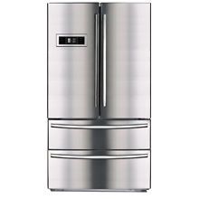 SMAD 36   Stainless Steel 4 Door French Door Refrigerator 21 cu ft With Ice Make