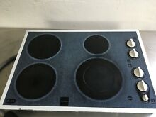 GE Electric Stove Top   Model No  JP9452T1WW   Used  In good condition
