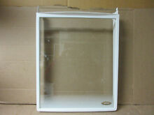 Frigidaire Refrigerator Stationary Glass Shelf Part   240355211