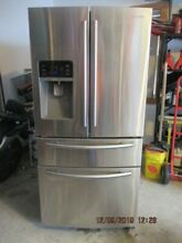 Samsung refrigerator Stainless Steel front
