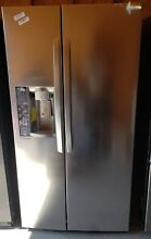 LG 26 2 cu ft Side by Side Refrigerator with Ice Maker Stainless Steel LSXS26326