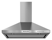 KitchenAid 30  Stainless Steel Canopy Wall Range Hood KVWB400DSS NEW CONDITION