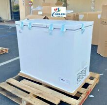 NEW 38  Solid Top Lock Chest Freezer Storage Cabinet NSF ETL Commercial XF 212