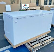 NEW 65  Solid Top Lock Chest Freezer Storage Cabinet NSF ETL Commercial XF 582