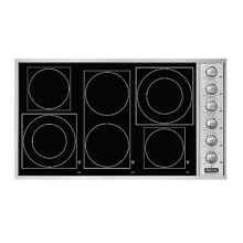 VIKING Professional Series VECU1666BSB 36  Smoothtop Electric Cooktop BLACK SS