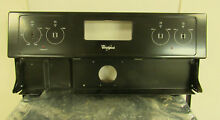 WHIRLPOOL OVEN PANEL ASSEMBLY BLACK FOR WHIRLPOOL OVEN WFE510S0AB90   NNB