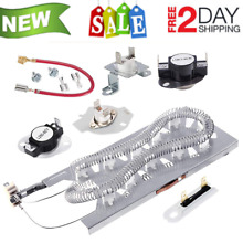 Heating Element Kit Thermostat Fuse Kenmore Whirlpool Dryer Heavy Duty New