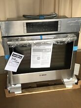 Bosch 800 Self cleaning True Convection Electric Wall Oven 30in Orig   2499