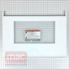 FRIGIDAIRE OEM 316558905 5303935379 OVEN OUTER DOOR GLASS   TRIM KIT   WHITE