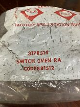3178514 Oven Selector Switch KitchenAid OEM New In Package