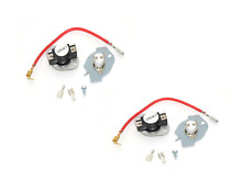 279816 Dryer thermal Thermostat Cut Out Off Fuse Kit AP3094244 3977393 2 PACK