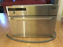 Beautiful Miele 24  Stainless Steel Built in Convection Steam Oven Model  DG 155