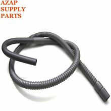 WH41X10096 Drain Hose Washing Machine 6 Foot PS890597 WH41X0367 SSD6GE