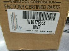 W10175553 NEW WHIRLPOOL WASHER TIMER