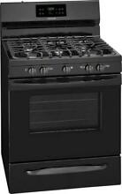 Frigidaire 30  BLK 5 Sealed Burners Store More Freestanding Gas Range FFGF3054TB