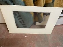 WPW10118454 WHIRLPOOL RANGE OVEN OUTER DOOR GLASS WHITE 29 1 2  x 20 1 8