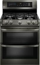 LG LDG4315BD 30  Double Oven Gas Range with ProBake Convection