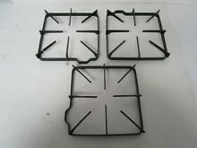 GE Gas Range Burner Grate  Black  8 5  x 9    SET OF 3   WB31K10016  ASMN
