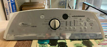 Appliance Parts  Part  W10191904 Whirlpool Washer Console Silver