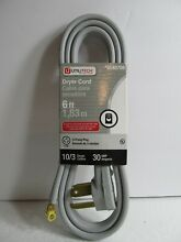 UtiliTech 3 Wire Prong Dryer Cord