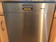 Miele 24  Stainless Steel Full Front Control Panel Dishwasher model G 5505 Sci
