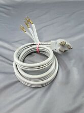 Universal 3 Prong Electric Dryer Power Cord   4 Ft   30 Amp