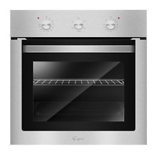 Single Electric Wall Oven 24 in  2 3 cu  ft  with Economy 4 Cooking Functions