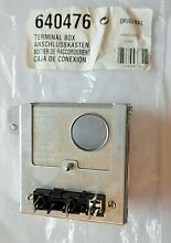 BOSCH THERMADOR DW TERMINAL BOX   PT  00640476 640476   NEW OLD STOCK
