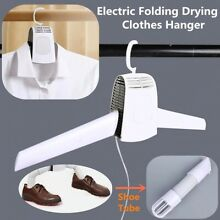 Electric Clothes Drying Rack Hang Clothes Dryer Portable Shoes Heater Outdoor