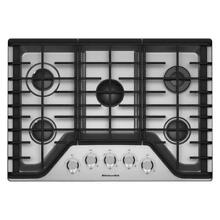 KitchenAid 36 in  Gas Cooktop in Stainless Steel with 5 Burners