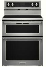 KitchenAid KFED500ESS 30  Electric Double Oven Convection Range Stainless Steel