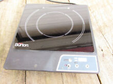 Max Burton Induction Hotplate single burner tested working solid cooking OS