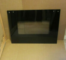 Whirlpool 30  Wall Oven  Outer Door Glass  Black  Part WP9759641