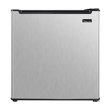Magic Chef Freezerless Mini Fridge Stainless Steel Compact Refrigerator Home
