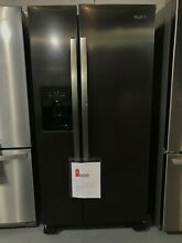 Whirlpool WRS321SDHZ 33 Inch Side by Side Refrigerator with Can Caddy