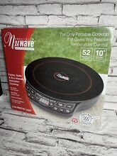 NuWave Precision Induction Portable Single Cooktop  model 30121   1300 watts